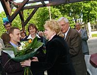 Ирина Скобцева, Олег Басилашвили.