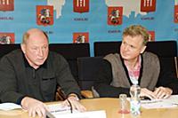 Евгений Гришин, Дмитрий Волков. Пресс-конференция