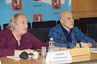 Юрий Давыдов, Денис Майданов. Пресс-конференция ор