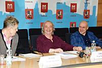 Дмитрий Волков, Юрий Давыдов, Денис Майданов. Прес