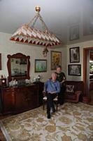 Российский актер Аристарх Ливанов с женой Ларисой.