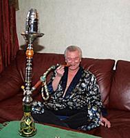 Российский актер Аристарх Ливанов. Домашняя съемка