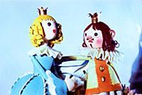 Куклы из коллекции театра кукол им. С.В. Образцова.