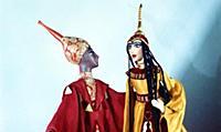 Куклы из коллекции театра кукол им. С.В. Образцова