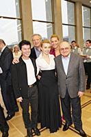 Олег Газманов с женой Мариной, Михаил Жванецкий, Е