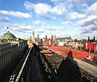 Парад на Красной площади, посвященный празднованию