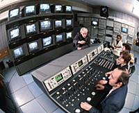 Работа  центрального телевидения СССР. 1980-е годы.
