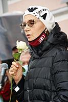 Ирина Купченко. Открытие мемориальной доски в чест