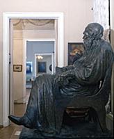 Государственный музей Л.Н. Толстого. Москва. 1990-е годы.
