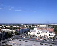 Улица. Город Грозный - столица Чечено-Ингушской АС