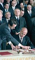 Визит в Москву Президента Франции Валери Жискар д'Эстена. 1979 год.