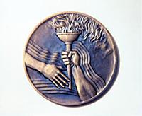 Памятная медаль Олимпийского комитета Болгарии. Эс