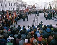Митинг. 175 лет Казанскому государственному универ