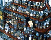 Образцы препаратов, полученных в химической лабора