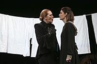 Алена Яковлева, Мария Козакова. Пресс-показ спекта