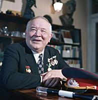 Народный артист СССР Борис Андреев. 1975 год.