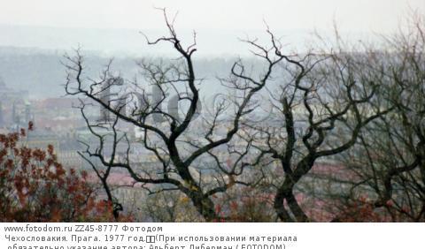 Чехословакия. Прага. 1977 год.  (При использовании материала обязательно указание автора: Альберт Либерман / FOTODOM)