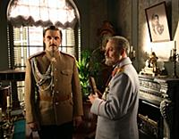 Владимир Вдовиченков, Юрий Соломин. Съемки фильма