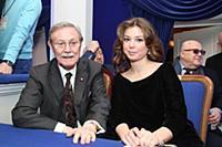 Юрий Соломин, Александра Соломина.
