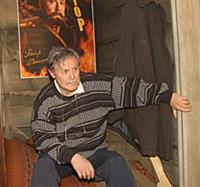 Актер Юрий Соломин. Съемки фильма 'Крик тишины'.