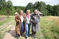Юрий Стоянов, Елена Стоянова, Федор Добронравов. С