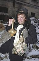 Актер Юрий Стоянов. Съемки программы «Городок». (1