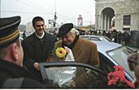 Театральный режиссер Юрий Любимов с сыном.