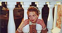Российская актриса Алиса Гребенщикова. Съемки филь