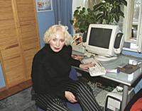 Российская актриса Татьяна Васильева. Домашняя съе