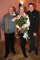 Владимир Долинский, Татьяна Васильева с сыном.