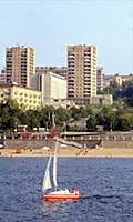 Куйбышев (Самара). Виды города и река Волга. 1985 год.