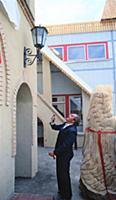 Открытие детского сада в честь 400-летия города.