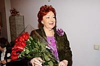 Эстрадная певица Алла Иошпе.