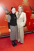 Ольга Любимова с дочерью Варварой. Премьера фильма