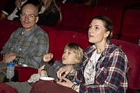 Марьяна Спивак с семьей. Премьера фильма «Конек-Го