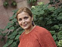 Актриса Ирина Пегова.