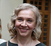 Театральный режиссер Марина Брусникина.