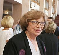 Актриса Ольга Остроумова.