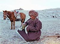 Монголия: Сельское хозяйство, животноводство.  1981-1983 годы.