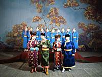 60-летие Монгольской Народной Республики. Праздничный концерт. Улан-Батор, Монголия. 1981 год.