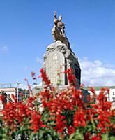 Города Монголии: Улан-Батор, Эрдэнэт, Дархан, Сухэ-Батор. Монголия. 1981-1983 годы.