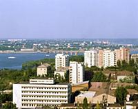 Город Днепропетровск. Украинская ССР. 1981 год.
