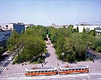 Днепропетровск. Украина (Украинская ССР). 1981 год