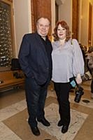Борис Каморзин с супругой. Презентация сериала «Уг