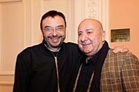 Дмитрий Бертман, Мамед Агаев. Пресс-показ выставки