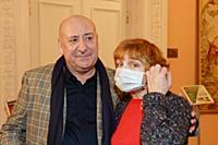 Мамед Агаев, Марина Райкина. Пресс-показ выставки