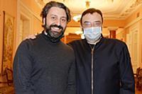 Эдуард Мусаханянц, Дмитрий Бертман. Пресс-показ вы