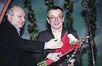 Михаил Жванецкий, Юлий Ким, (1998). Архивные фотог