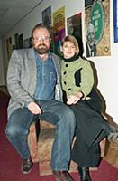 Владимир Хотиненко с женой, (1994). Архивные фотог