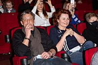 Александр Домогаров, Ирина Гуненкова. Премьера фил